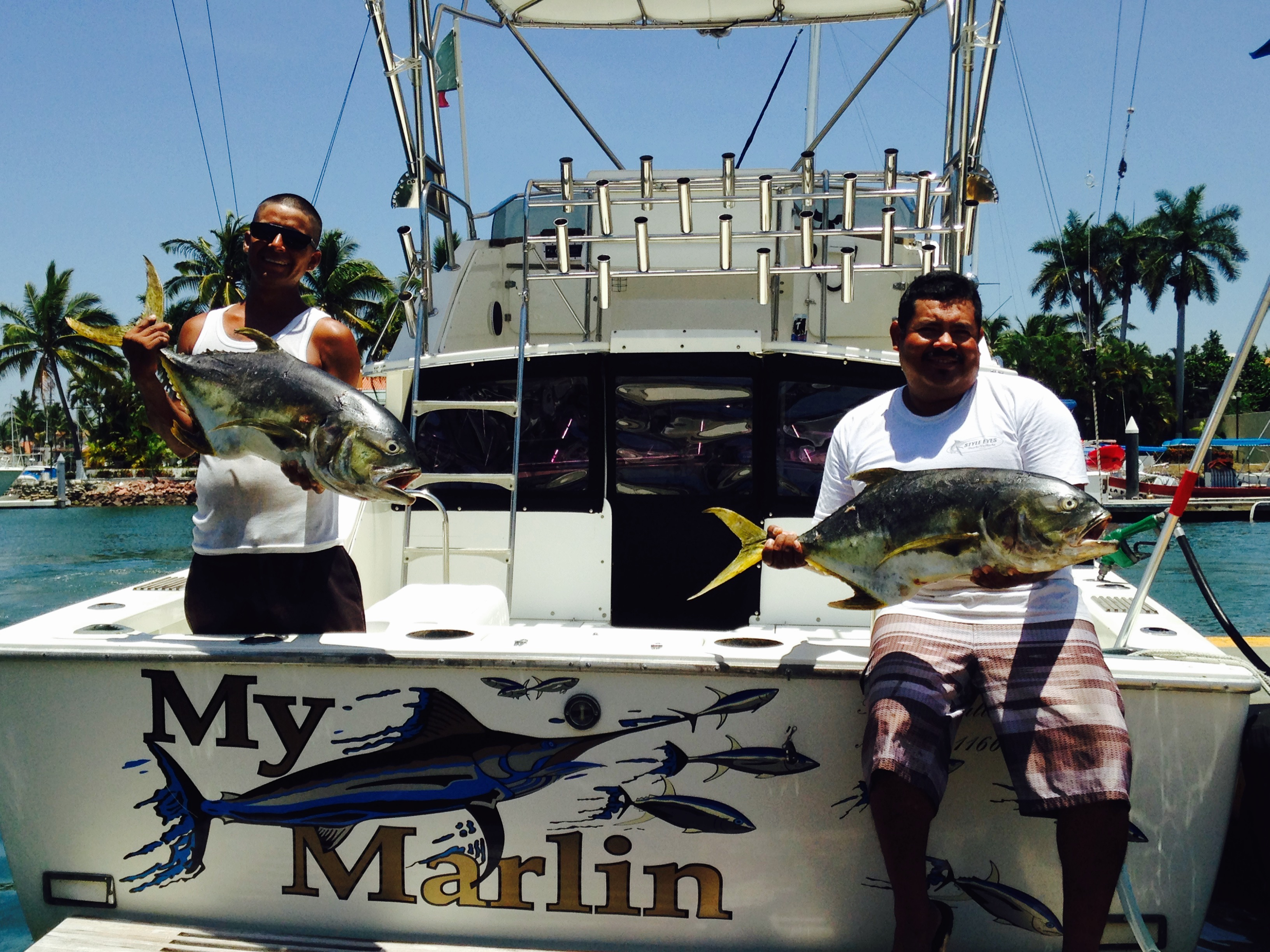 Puerto vallarta fishing charter with my marlin boat for Puerto vallarta fishing