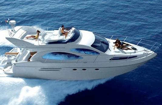 Jump Aboard Your own Luxury 46 Ft 2003 Azimut Yacht